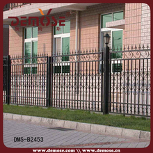 outdoor veranda wrought iron railings/meter iron railing price