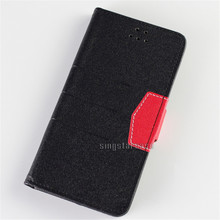Folio Leather Phone Case Alcatel A7, Wallet Style Flip Cover For Alcatel A7 Case