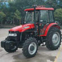 Cheap Price LUTONG small farm tractor LT554 55HP 4WD with CE certificate