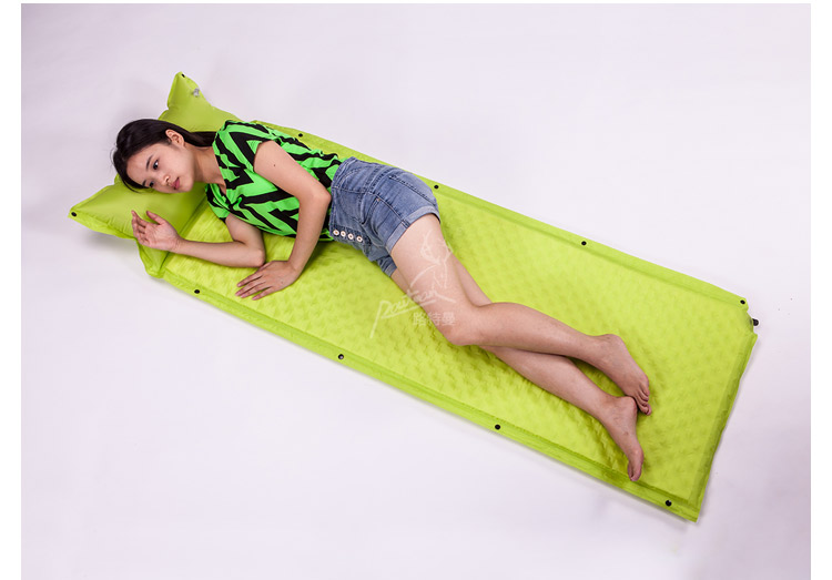 Camouflage Can Be Spliced Self Inflating Cushion Air Mattress Camping Mat With Pillow For Single