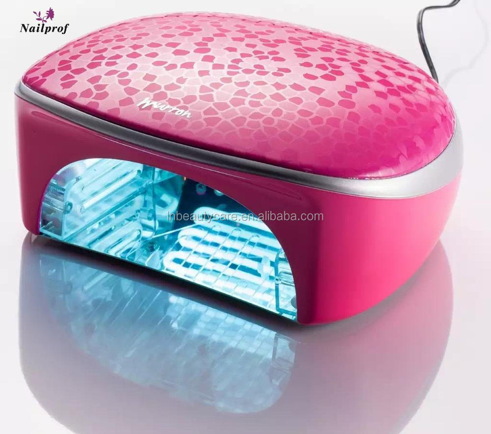 60W Murron nail led uv lamp nail curing light & hand brighten lamp high power nail led uv lamp curing all 5 fingers
