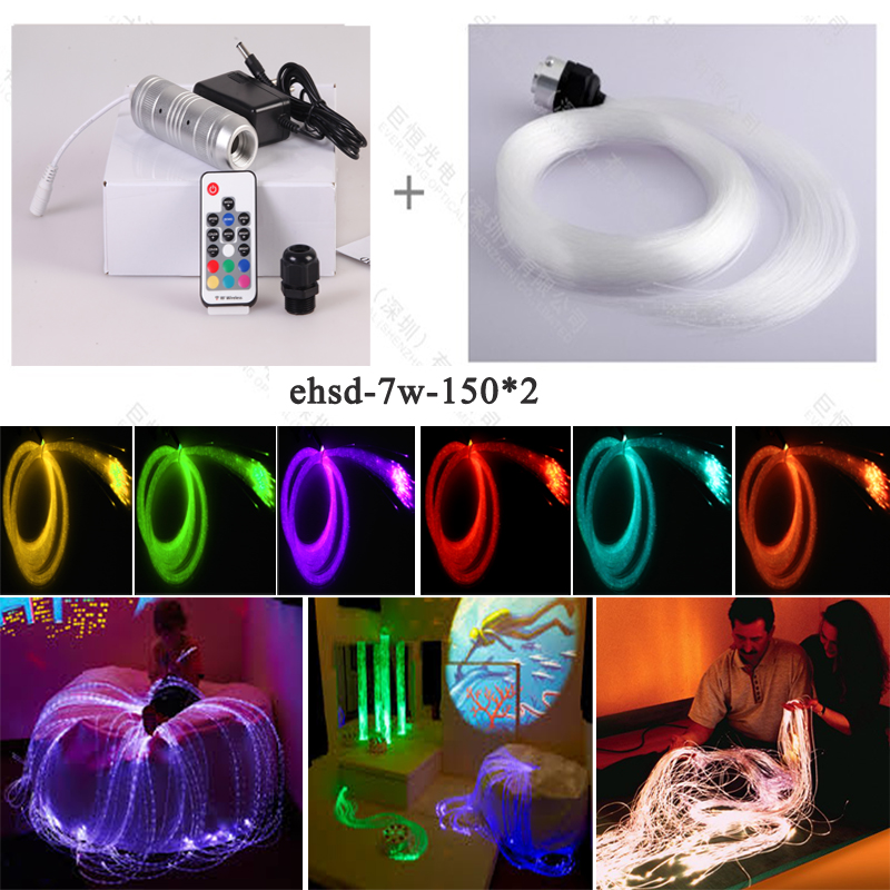 safely multi color fiber optic sensory light for sensory integration therapy