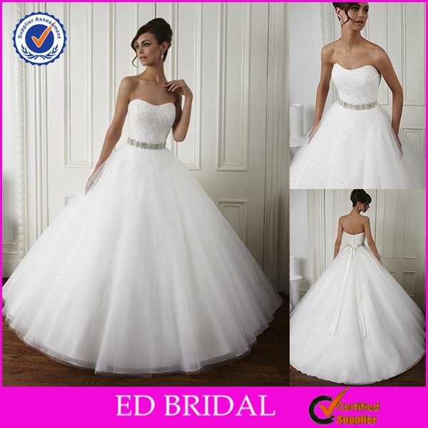 2015 China Made To Order Tulle Cheap Wedding Dresses For Sale Online