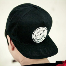 Wholesale korean style new rubberizing logo cotton hiphop snapback <strong>hat</strong> YJC-F970