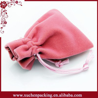 Promotion cute custom mini drawstring gift pouch bag for jewelry