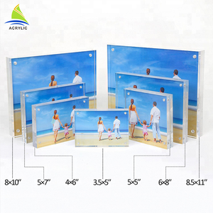High Transparency acrylic wholesale picture frames 5x7