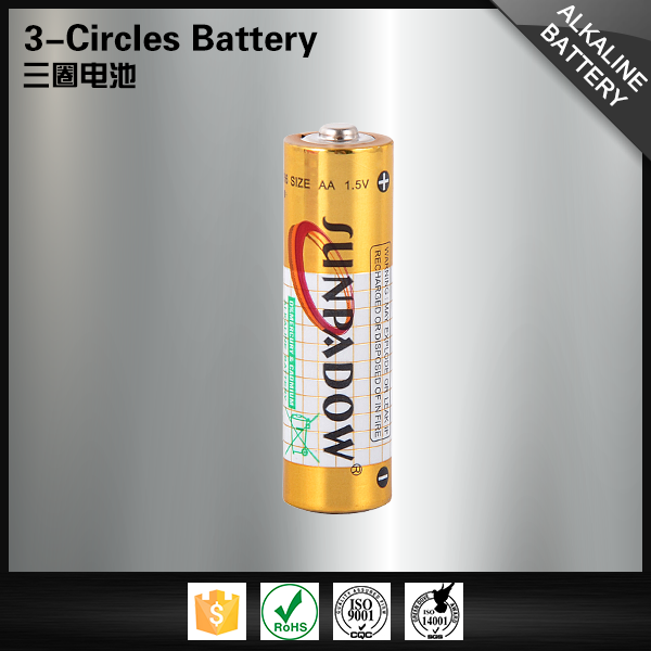 Hot selling powerful stable 1.5v am3 alkaline battery LR6
