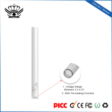 Alibaba hottest design products 280mah capacity bud touch e cigarette battery