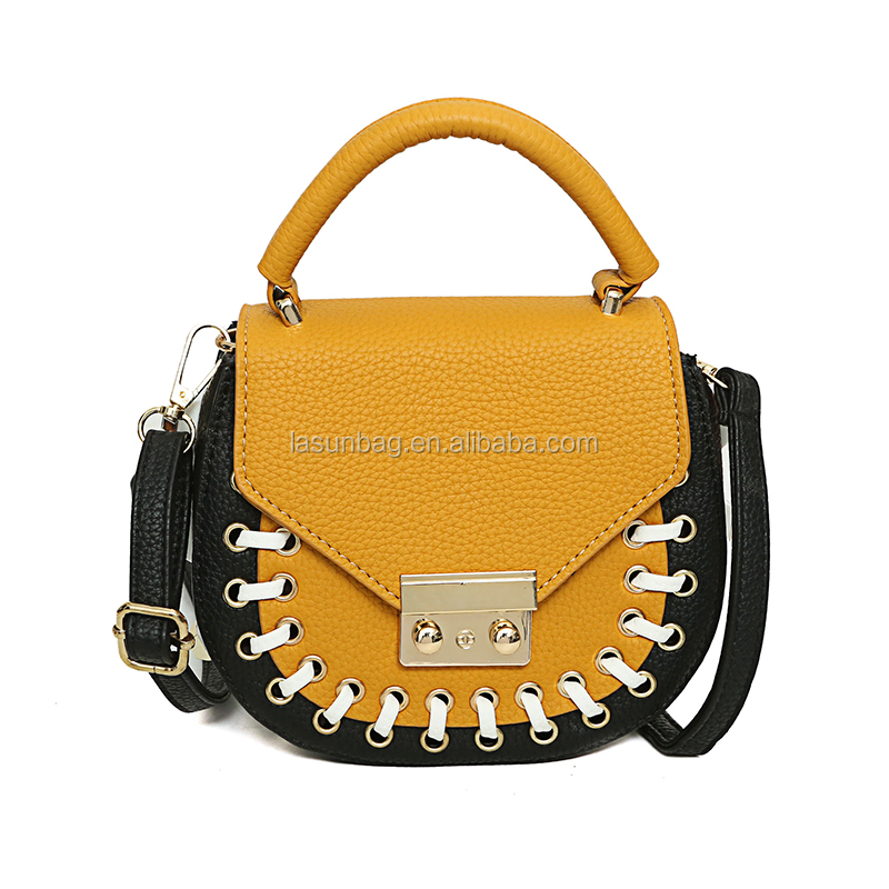 Guangzhou Factory Directly Sale Pig Noses Small Cute Nubuck Leather Shoulder Bags for Girls