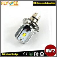 M2s H4 LED Hi/Lo Beam 6000K 12W 800LM Bike Motorcycle Headlight Motor Lamp Kit For MOTOR Head Lamp