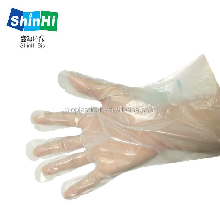 2016 hot sales biodegradable glove compostable glove hot with competitive price
