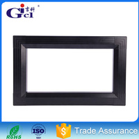 Gicl 4590F2 led aluiminum profile advertising indoor or semidoor p10 32*16 red color module led moving massage display