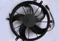 High Performance auto condenser fan 12V/24V DC
