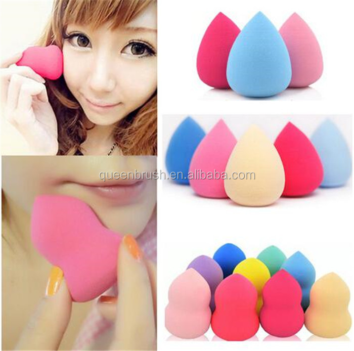 Private Label Colorful Makeup Sponge Hydrophilic Polyurethane Washable Cosmetic Powder Puff