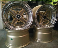 "15x8/15x9"" alloy wheels with 4x114.3/4x100 rim"