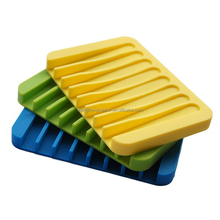 Silicone Soap Saver Holder For Sponges Colorful Soap Box Case Soap Dish Tray For Shower/ Bathroom/ Kitchen, Keep Soap Bars Dry