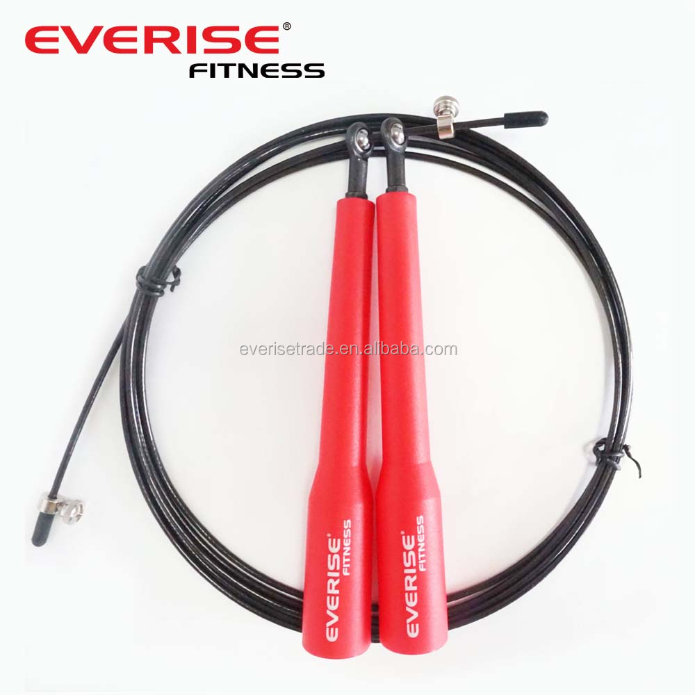 Wholesale Crossfit Speed Cable Jump Ropes With Bearing In Handle