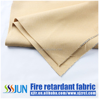 100% Polyester Fire Proof Permanent Flame Retardant Iimation Linen Fabrics For Curtain/Sofa