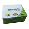 High quality custom design lunch tin box with handle