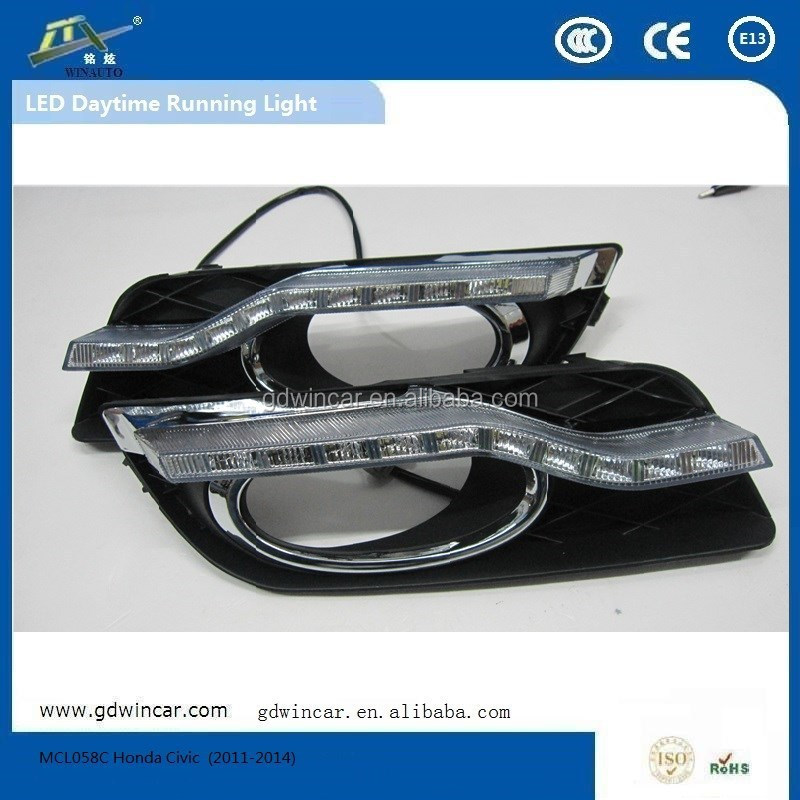 Hight Quality Led DRL for Honda Civics Car LED Daytime Running Light (2011-2014)
