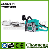Chaoneng high quality aluminium strong petrol 5200/5800 chain saw