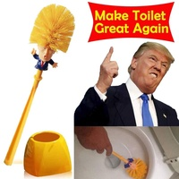 Donald Trump Toilet Supplies Bathroom Cleaning Tools Toilet Brush Trump Toilet Brush Home Hotel Bathroom Cleaning Accessories