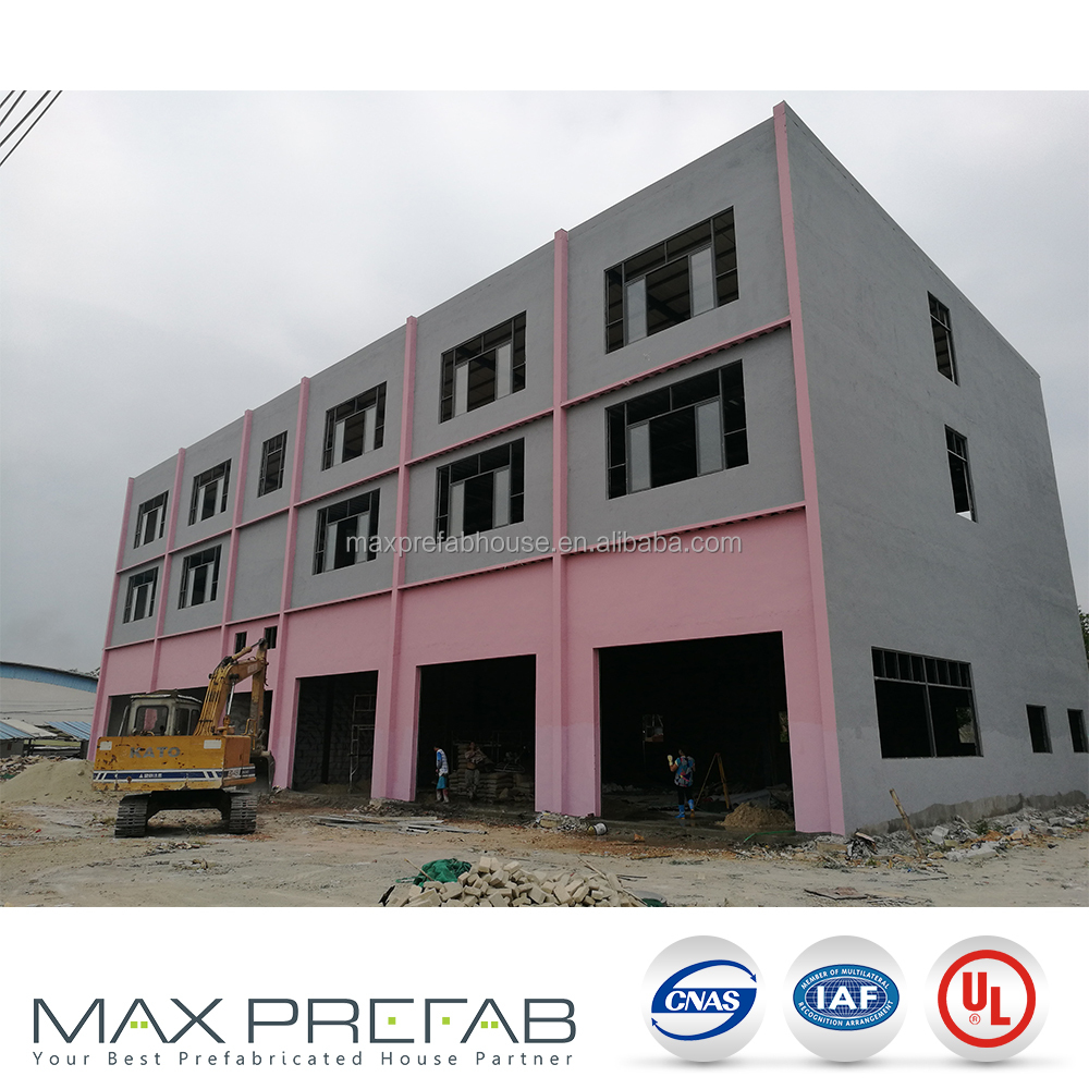 SB013 floor Prefab apartment construction factory building used steel buildings sale