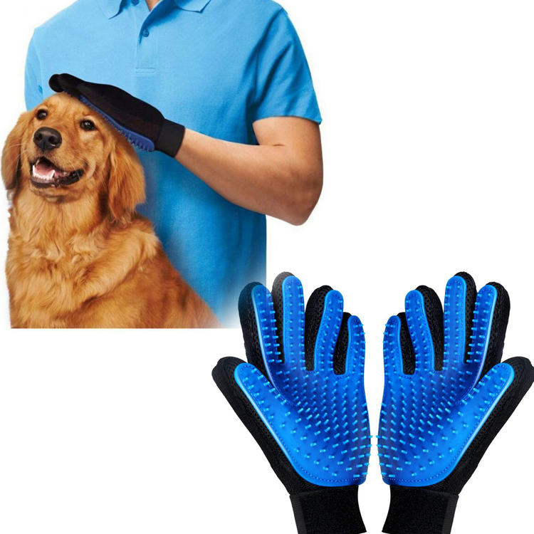 Brush Glove <strong>Pet</strong> Dog Cat Gentle Efficient Massage Grooming and For <strong>Pet</strong> Washing Gloves Goods hair <strong>Pet</strong> Finger Z0055