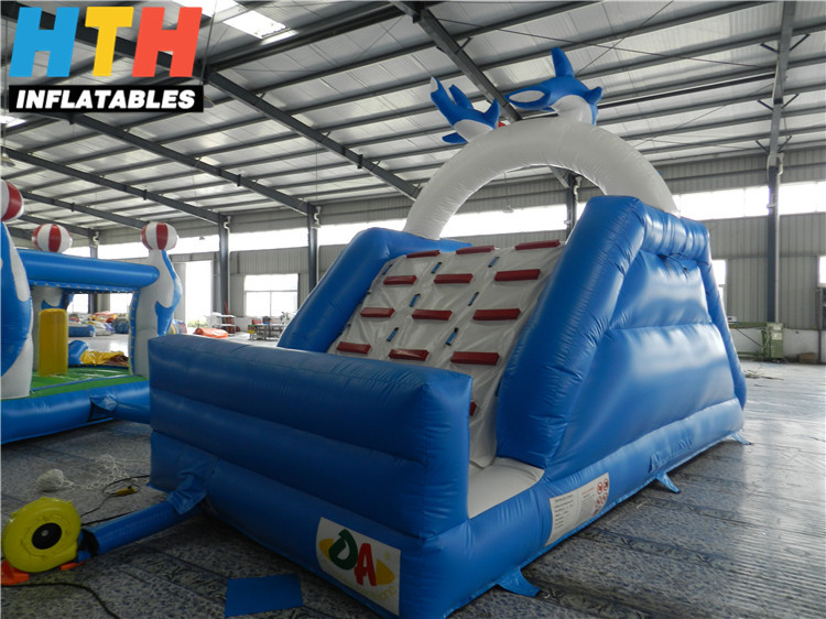 Dolphin inflatable swimming pool slide for sale