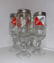 REDNECK BALL MASON JARS ON STEM* wine glass 16 oz pint hillbilly wedding mug