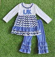 Fall Winter UK Baby Chevron Boutique Clothes