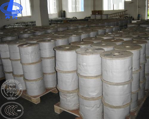 Brand new ungalvanized steel cable with CE certificate