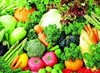 fresh vegetables/fruits