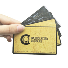 China Factory Custom Manufacture Gold Membership <strong>Card</strong> Name <strong>Card</strong>