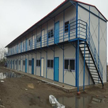 China Factory Low Cost Prefabricated Steel Frame House/Villa/Homes