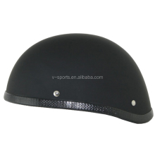 Japan Military style Half face Black helmet Jet Open face motorcycle helmet