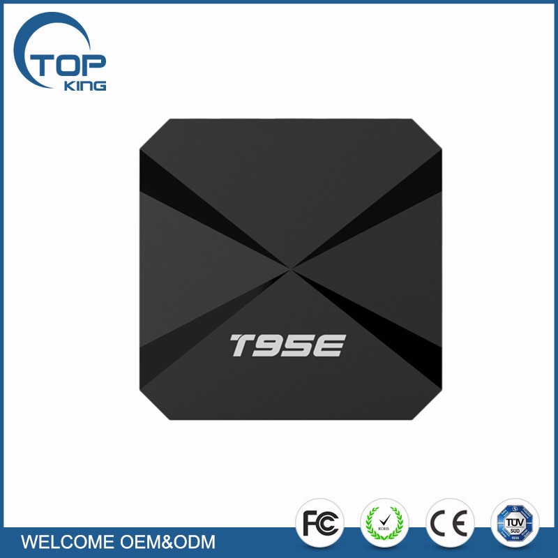 cheapest Android TV BOX T95E Android 5.1 RK3229 Quad-core 1G/8GB Support Wifi and 4K Streaming Media Player