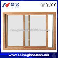 Plastic UPVC Office Sliding Glass Reception Window