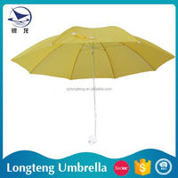 China Manufacturer Cheap price 8 steel ribs Clip-on porcelain umbrella dolls