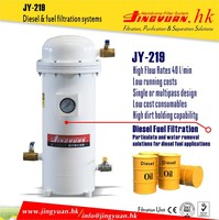 JY-219 High precision fuel refinement machine for mechanical processing with oil water separation