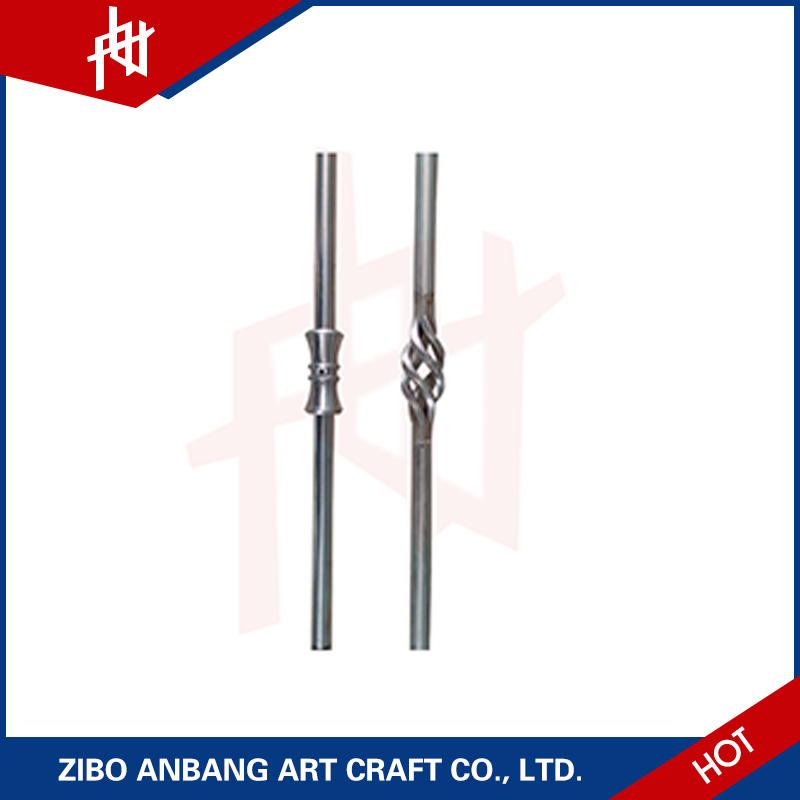 High quality Wrought Iron Steel Bar for window railing grill