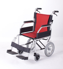 Folding lightweight handicapped wheelchair seat cushion