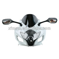 For SUZUKI GSXR600/750 06-07 motorcycle Headlight,upper fairing,mirror,Windscreen