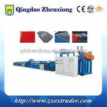 High Quality PVC plastic spray carpet mat production line/PVC plastic mat extruder machinery