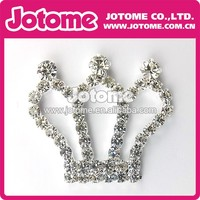 Small Rhinestone Crown Buckle for Wedding Invitaion Card Decoration