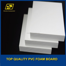 SINTRA PVC rigid sheet/board 3mm white black color