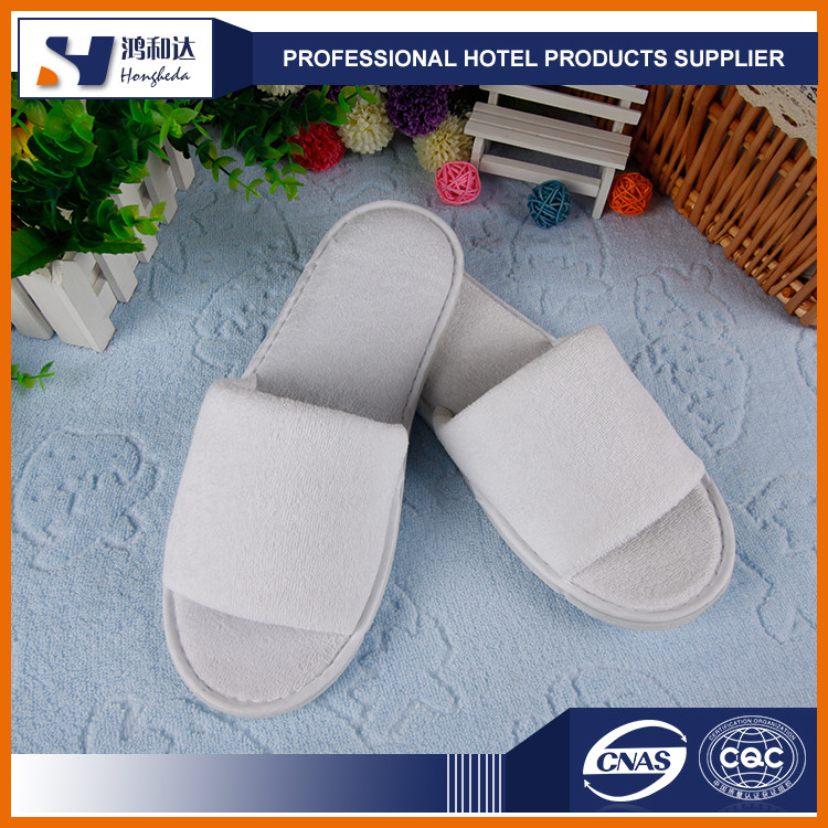 Different size kids bedroom terry cloth slippers