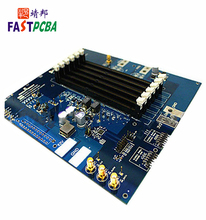 Circuit Control Aluminum Lcd Tv Mother Board Fr4 Printer Pcba Integrated Electronic ru 94v0 Rohs Pcb Board Assembly Factory