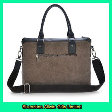 Latest Style Canvas Briefcase Handbag Messenger Man Bag