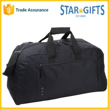 Mens 600D Oxford Black Durable High Quality Outdoor Sport Travel Duffle Bag